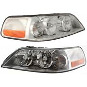 Headlight Lamp Left-and-right Fo2503184 Fo2502184 4w1z13008ab 4w1z13008aa