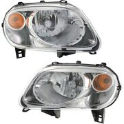 Headlight Lamp Left-and-right For Chevy Gm2503262 Gm2502262 15827442 15827441