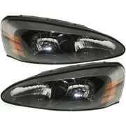 Headlight Lamp Left-and-right Lh And Rh Gm2503227 Gm2502227 25851403 25851404