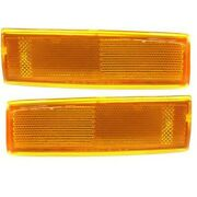 Corner Lights Lamps Set Of 2 Left-and-right For Chevy Olds S10 Pickup S15 Pair