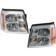 Hid Headlight Lamp Left-and-right Hid/xenon Lh And Rh 19208223 19208222