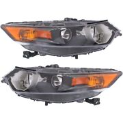Hid Headlight Lamp Left-and-right Hid/xenon Lh And Rh For Tsx Ac2503118, Ac2502118