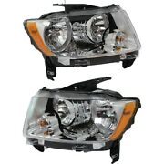 Headlight Lamp Left-and-right Ch2518139, Ch2519139 68088869aa, 68088868aa