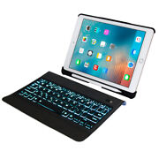Ergonomic Bluetooth Keyboard Case Cover Pen Holder For Apple Ipad Air1/2 9.7''