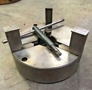 """6"""" 3 Jaw Piston Chuck For Metal Lathe Grinder Buck 1-1/2""""-8 Southbend Atlas"""