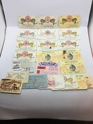 22 Circus Model Builders Paper Lot Flyer Poster Route Card Program Press Pass