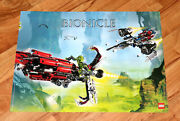 2008 The Lego Group Bionicle Lego Rare Poster 53x40cm