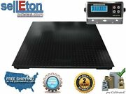 60 X 60 5and039 X 5and039 Floor Scale Pallet Size 10000 X 1 Lb With Rs-232 Port