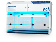 Pcr Workstation- 48 / 1200mm Wide Flow Hood New With Hepa Filter