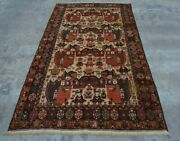 H275 Vintage Afghan Tribal Decor Wall Hanging Pictorial Hunting Rug 4and0393 X 7and03910