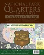 Harris National Park Quarters Traditional Collectors Map For 56 Coins 2010-2021