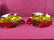 Nos Oem Lincoln Continental Tail Lamp 1999 - 02 Pair Export Models