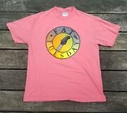 Vintage 1980s Hanes Fat Tuesday Big Graphic Single Stitch T Shirt Size Large