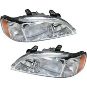 Hid Headlight Lamp Left-and-right Hid/xenon Ac2519104, Ac2518104 Lh And Rh For Tl