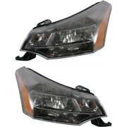 Headlight Lamp Left-and-right Fo2503269 Fo2502269 9s4z13008c 9s4z13008d