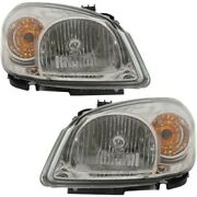 Headlight Lamp Left-and-right For Chevy Gm2503282, Gm2502282 20825580, 20825581
