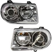 Headlight Lamp Left-and-right Ch2502167, Ch2503167 Lh And Rh For Chrysler 300