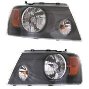 Headlight Lamp Left-and-right For F150 Truck Lh And Rh Ford Fo2503248c Fo2502248c