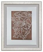 Andre Masson Original Etching Hand Signed And Numb + Athena W/ Frame