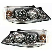 Headlight Lamp Left-and-right Lh And Rh Gm2503355 Gm2502355 20787973 20787974
