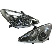 Hid Headlight Lamp Left-and-right Hid/xenon Lh And Rh Lx2503126 Lx2502126