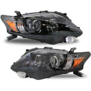 Lx2502155 Lx2503155 Headlight Lamp Left-and-right Lh And Rh For Lexus Rx350 10-12