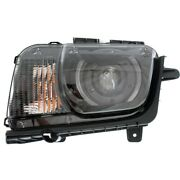 Hid Headlight Lamp Left Hand Side For Chevy Hid/xenon Driver Lh Camaro Gm2502340