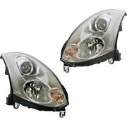 Hid Headlight Lamp Left-and-right Hid/xenon In2503128, In2502128 Coupe Lh And Rh