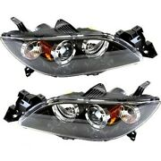 Ma2519113, Ma2518113 Hid Headlight Lamp Left-and-right Hid/xenon Lh And Rh For 3