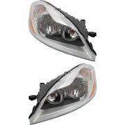 Headlight Lamp Left-and-right Vo2503130 Vo2502130 313954711 313954703 Lh And Rh