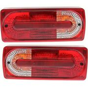 Set Of 2 Tail Lights Lamps Left-and-right For Mercedes G Class Lh And Rh G500 Pair