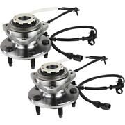 Wheel Hubs Set Of 2 Front Left-and-right For Pickup Xl5z1104a Lh And Rh Ford Pair