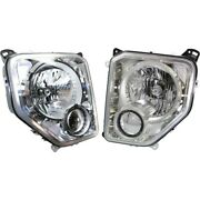 Headlight Lamp Left-and-right Ch2503234c Ch2502234c 57010171ae 57010170ae