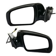 Pair Set Of 2 Mirrors Left-and-right Heated For Mercedes C Class Lh And Rh C230