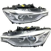Hid Headlight Lamp Left-and-right For 320 328 Hid/xenon Bm2503181 Bm2502181