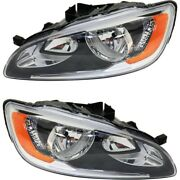 Headlight Lamp Left-and-right Lh And Rh Vo2503141 Vo2502141 314202888 314202870