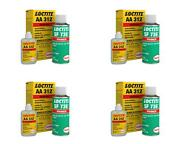 Loctite 03325 Adhesive Use To Mount Rearview Mirrors To Windshields 4 Pack