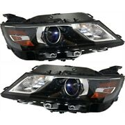 Headlight Lamp Left-and-right For Chevy Gm2503417, Gm2502417 23405239, 23405242
