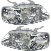 Headlight Lamp Left-and-right For Chevy Gm2519154 Gm2518154 96540254 96540253