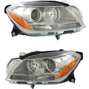 Headlight Lamp Left-and-right For Mercedes Ml Class Ml350 1668205359 1668205259