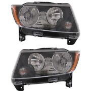 Headlight Lamp Left-and-right Ch2503246c, Ch2502246c 68171214ab, 68171215ab