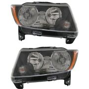 Headlight Lamp Left-and-right Ch2503246c Ch2502246c 68171214ab 68171215ab