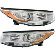 Headlight Lamp Left-and-right To2503221c To2502221c 811100e180 811500e180