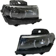 Gm2503392, Gm2502392 Hid Headlight Lamp Left-and-right For Chevy Hid/xenon