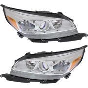 Headlight Lamp Left-and-right For Chevy Lh And Rh Malibu Gm2503362c, Gm2502362c