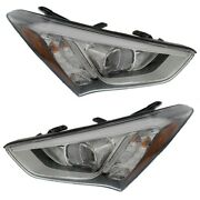 Hy2503179, Hy2502179 Hid Headlight Lamp Left-and-right Hid/xenon Lh And Rh