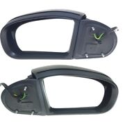 Pair Set Of 2 Mirrors Left-and-right Heated For Mercedes C Class Sedan Lh And Rh