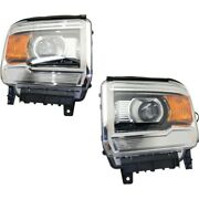 Headlight Lamp Left-and-right Gm2503394 Gm2502394 23130718 23130717 Lh And Rh