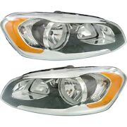 Headlight Lamp Left-and-right Vo2503142 Vo2502142 313581142 313581134 Lh And Rh
