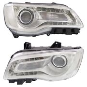 68196276ad 68196277ad Ch2503268 Ch2502268 Headlight Lamp Left-and-right